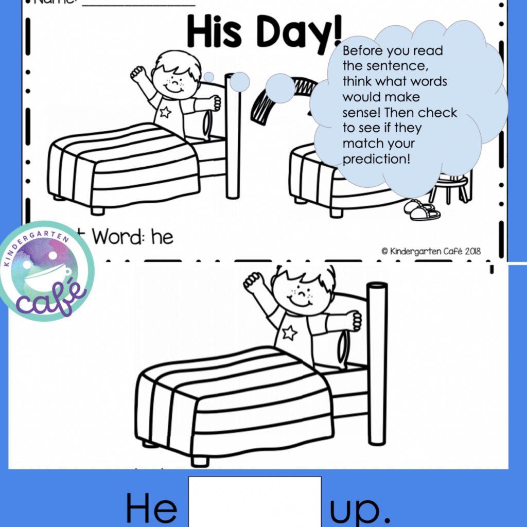 kindergarten reading powerpoints for teaching reading strategies