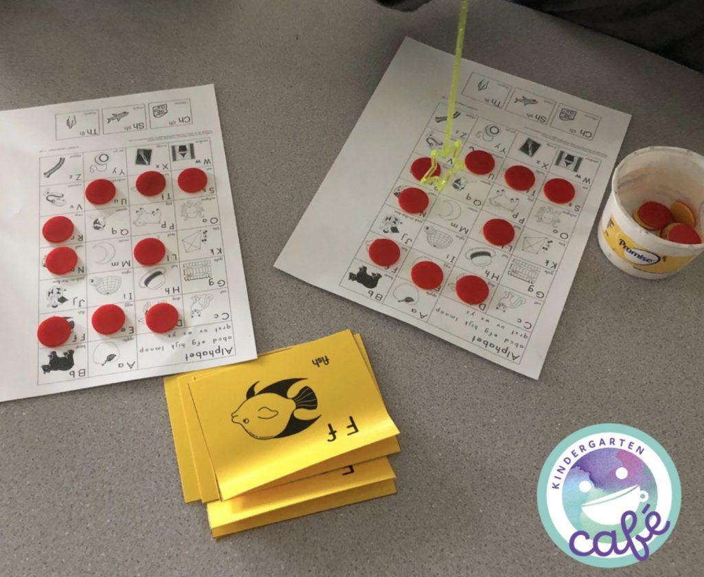 phonics for kindergarten games