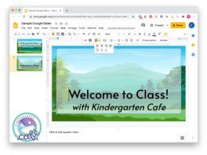 google slides for teachers