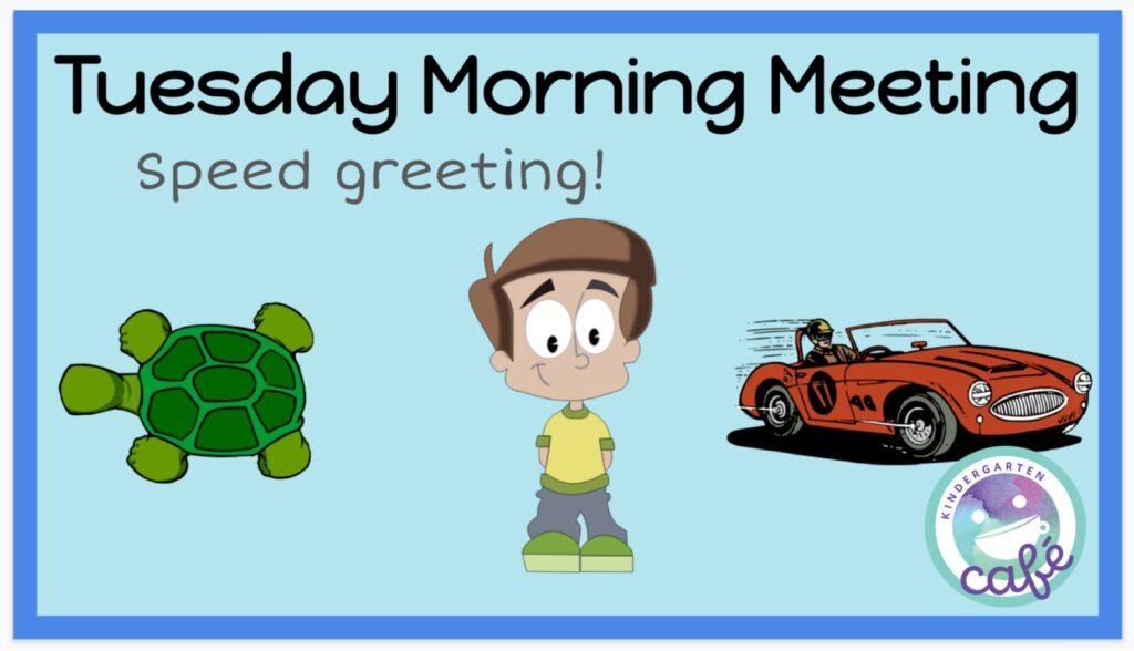 morning meeting greeting