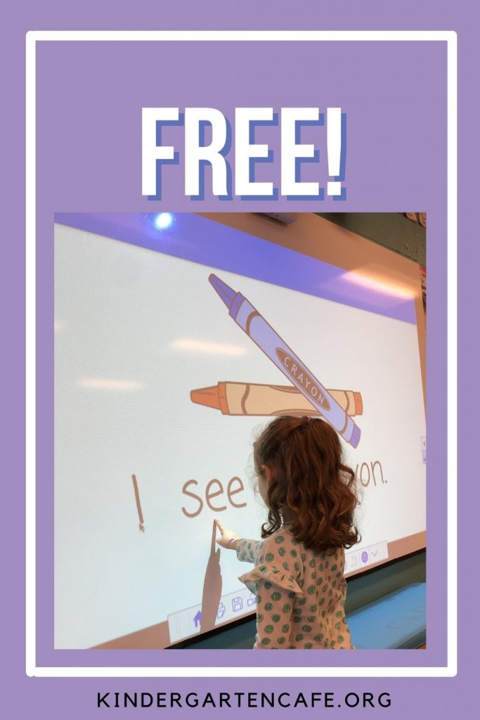 free reading powerpoint for kindergarten