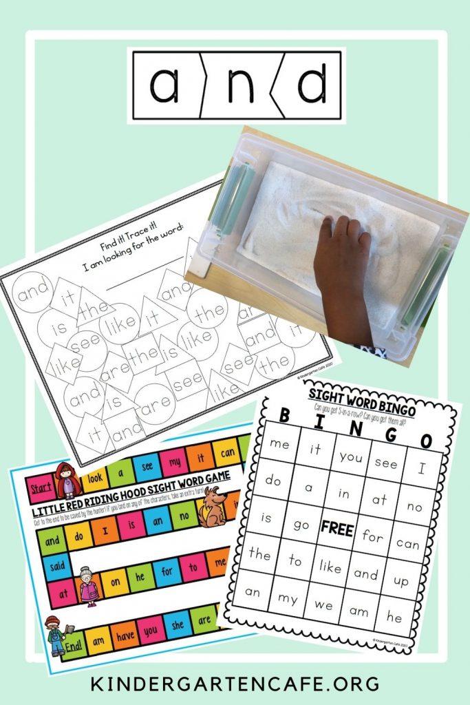 Teaching-High-Frequency-Words-In-Kindergarten