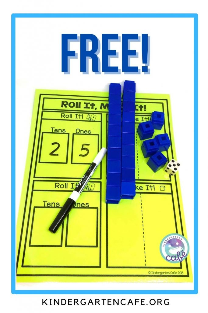 free place value activity