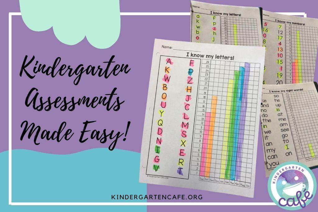 Kindergarten assessments help track students' progress.
